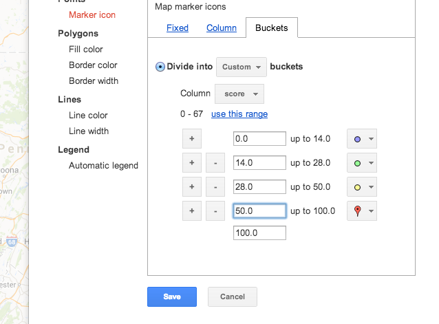 Intro to Data Mashing and Mapping with Google Fusion Tables | small